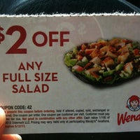 Photo taken at Wendy's by Subi J. on 4/17/2013