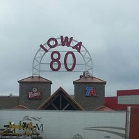Photo taken at Iowa 80 Truckstop by Lora W. on 3/16/2013