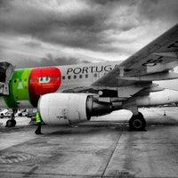Photo taken at Lisbon Humberto Delgado Airport (LIS) by Nuno G. on 3/17/2013