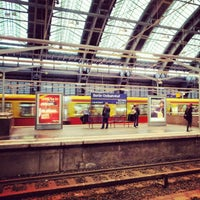 Photo taken at Berlin Ostbahnhof by MaNOlo A. on 2/25/2013