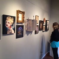 Photo taken at Modern Eden Gallery by Andrew N. on 3/22/2014