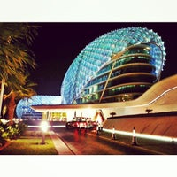 Photo taken at Yas Viceroy by Ali M. on 1/2/2013