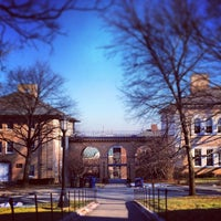 Photo taken at Memorial Steps, Tufts University by Sam M. on 1/29/2014