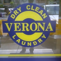 Photo taken at Verona Laundry by William A. on 5/6/2013