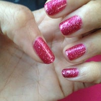 Photo taken at i love nails by Lenee Y. on 4/5/2013