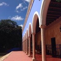 Photo taken at Hacienda Santa Rosa, a Luxury Collection Hotel, Santa Rosa by Cristina S. on 11/1/2013