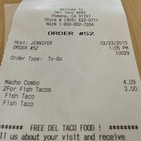 Photo taken at Del Taco by Jason L. on 2/23/2013