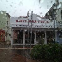Photo taken at Sorveteria Rocha by Thaís V. on 3/17/2013