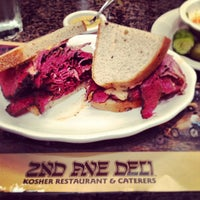 Photo taken at 2nd Ave Deli by Gordon C. on 6/25/2013