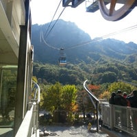 Photo taken at Sorak Cable Car by 정연 손. on 10/19/2012