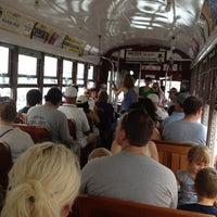 Photo taken at St. Charles Avenue Streetcar by Emily on 9/1/2013
