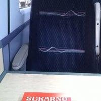 Photo taken at Swansea (SWA) to Paddington (PAD) Train by Debs M. on 7/27/2014