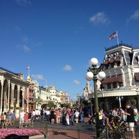 Photo taken at Main Street, U.S.A. by Anie B. on 1/12/2013