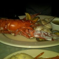 Photo taken at Westbrook Lobster Restaurant & Bar by Rachel on 9/16/2012