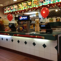 Photo taken at Roy Rogers / Nathan's by Hilton K. on 12/26/2012