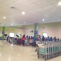 Photo taken at International Departures Hall by wan intan w. on 1/8/2013