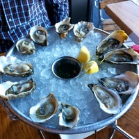 Photo taken at Hog Island Oyster Co. by Alan G. on 10/9/2013