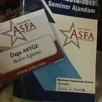 Photo taken at Asfa Eğitim Kurumları by Özge A. on 8/17/2016