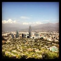 Photo taken at Parque Metropolitano de Santiago by Gaston R. on 1/11/2013