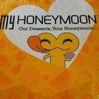 Photo taken at My Honeymoon Dessert by christine F. on 2/16/2013