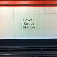 Photo taken at Powell St. BART Station by Cee A. on 3/24/2013