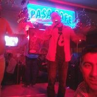 Photo taken at Paşa Cafe by Yeşim A. on 2/28/2013