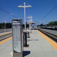 Photo taken at RTD - Yale Light Rail Station by Douglas G. on 7/16/2013
