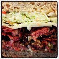 Photo taken at Langer's Delicatessen-Restaurant by Arash M. on 11/20/2012