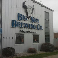 Photo taken at Big Sky Brewing Company by Jeff M. on 4/19/2013