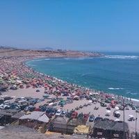 Photo taken at Playa El Silencio by Frank O. on 1/20/2013