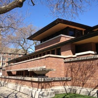 Photo taken at Frank Lloyd Wright Robie House by Diane M. on 4/20/2013