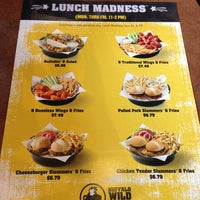 Photo taken at Buffalo Wild Wings by Amy S. on 5/1/2013