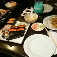 Photo taken at Miki Sushi by Thifiell on 2/22/2016