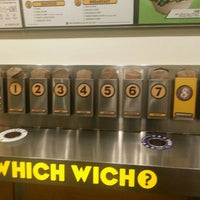 Photo taken at Which Wich? Superior Sandwiches by Julius H. on 4/25/2016