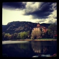 Photo taken at The Broadmoor by Christine H. on 5/15/2013