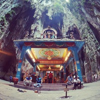 Photo taken at Batu Caves by sandwiz on 7/21/2013