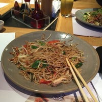 Photo taken at Wagamama by Moemen I. on 11/21/2015