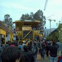 Photo taken at Espacio Riesco - Expomin 2012 by César M. on 4/13/2012