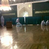 Photo taken at Masjid Agung Al-Ukhuwwah by Muthia H. on 2/17/2013