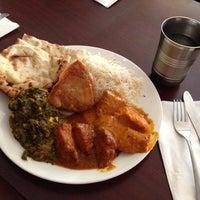 Photo taken at Seva Indian Cuisine by tomomi C. on 5/27/2013