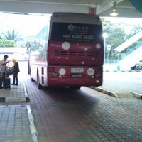 Photo taken at Sungai Nibong Express Bus Terminal by Bondi P. on 2/3/2013