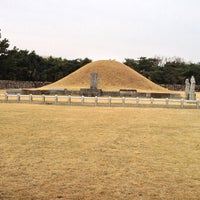 Photo taken at Tomb of King Suro by Kyunghan K. on 3/24/2013