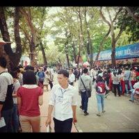 Photo taken at Le Van Tam Park by Ron N. on 3/29/2014