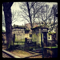Photo taken at Père Lachaise Cemetery by Antony F. on 3/1/2013