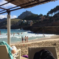 Photo taken at Cala Molins by Alex S. on 10/23/2015