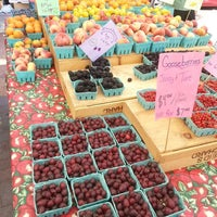Photo taken at Mt. Pleasant Farmer's Market by Anna J. on 7/27/2013