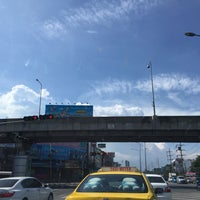 Photo taken at Si Udom Intersection by Khae D. on 7/19/2016