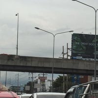 Photo taken at Si Udom Intersection by Khae D. on 7/29/2016