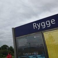 Photo taken at Rygge stasjon by Roger K. on 6/28/2013