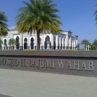 Photo taken at Masjid H Bajumi Wahab by Siska S. on 10/15/2013